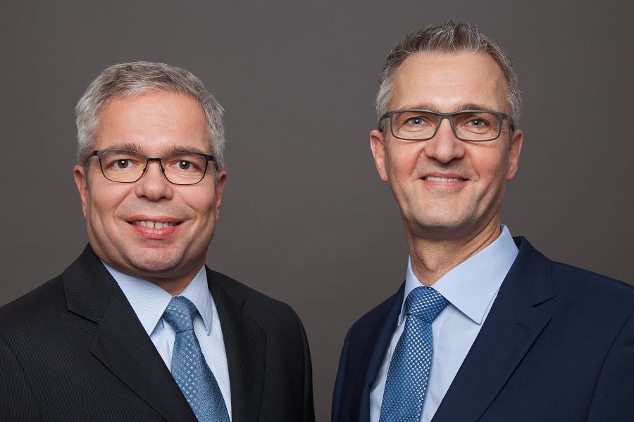 Manfred Boll und Jens Meyhöfer, Geschäftsführer der abilcon